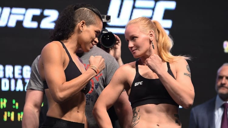 best female UFC fighters 2021