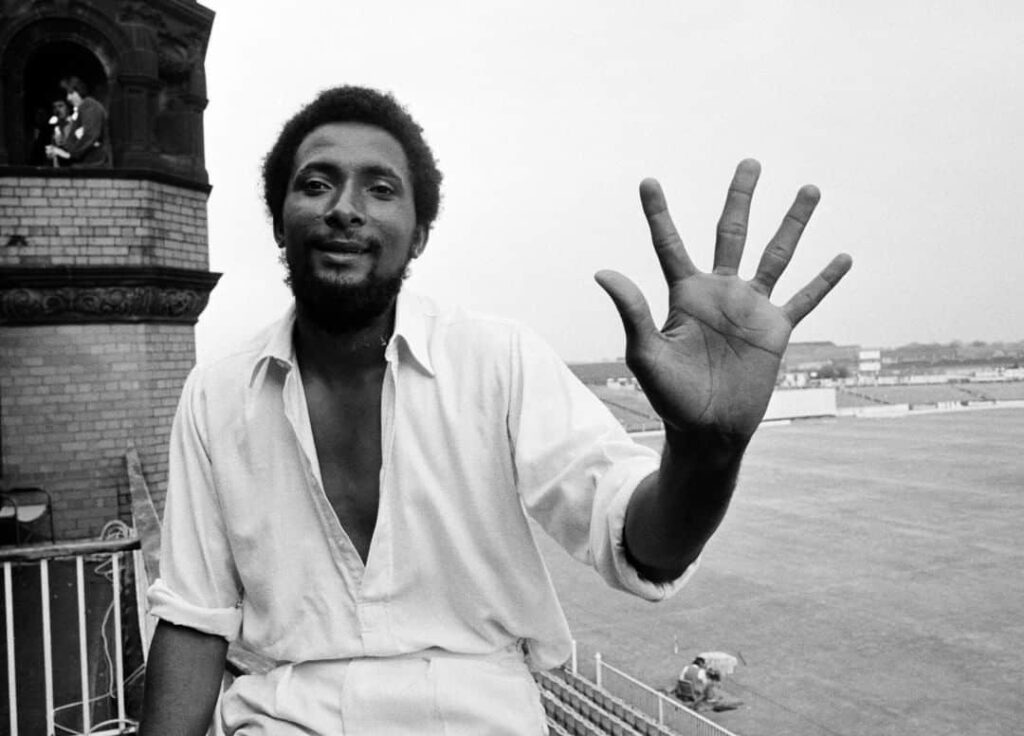 andy roberts once held the title of fastest bowler in the world