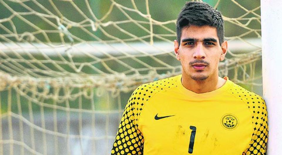Having impressed for East Bengal, Gurpreet Singh Sandhu moved to Norway where he signed for Stabaek first Indian football player in Europe