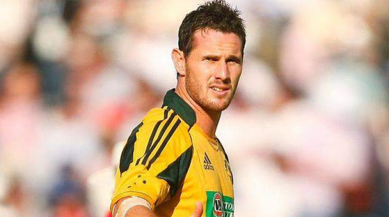 one of the fastest bowlers in cricket, Shaun Tait