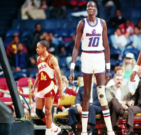 Top 10 Tallest NBA Players Ever (of all time)