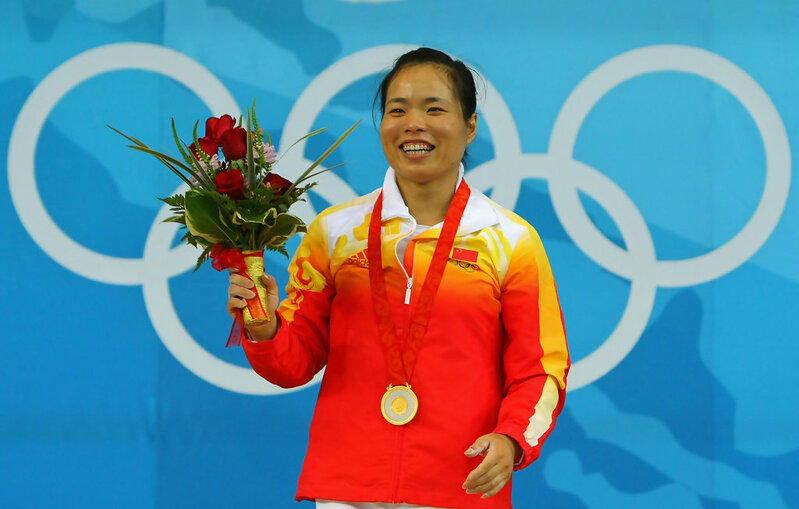 top female olympic weightlifters