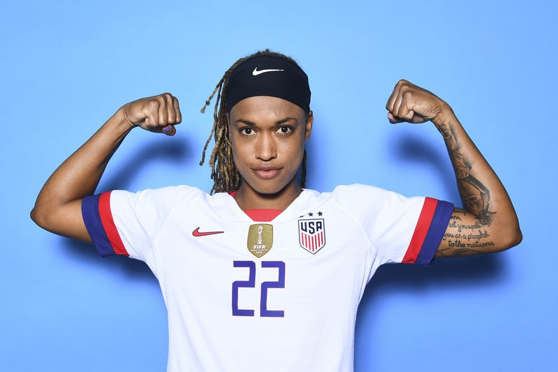 famous women soccer players