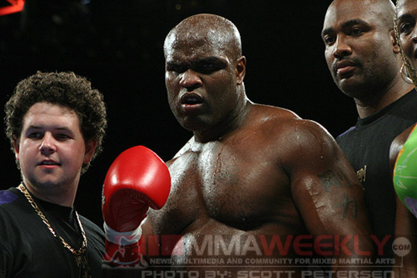 top arm wrestler Gary Goodridge