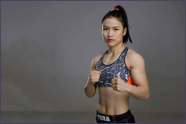 top female ufc fighters 2021